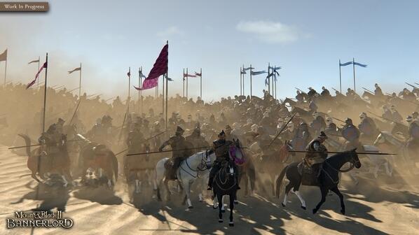 《骑马与砍杀2》热度大涨 steam特别好评