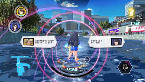 《神田川JET GIRLS》发售日确定 美少女水上激战