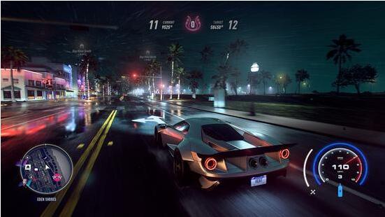 《极品飞车:热度》官方正式公布 11月8日发售