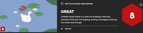 《捣蛋鹅》一场短暂但魅力无穷的冒险 IGN评分8分