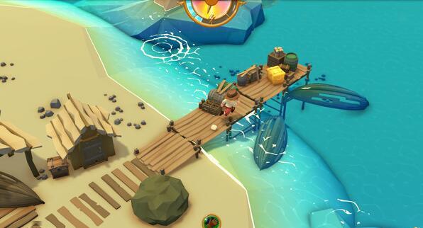 STEAM 限时特惠 海岛生存游戏《落难航船诅咒之岛的探险者》优惠价只需66元