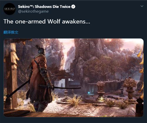 《只狼:影逝二度》官方发文 暗示或将有新动作